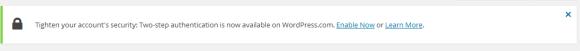 wordpress security authentication