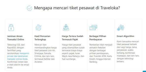 Alasan mencari tiket di traveloka.com