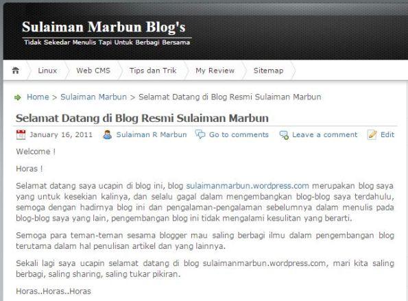 sulaiman marbun blog's